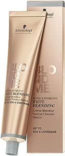 Schwarzkopf BlondMe Bond Enforcing White Blending - Sand 60ml