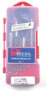 Recoil 33005R Range Thread Repair Kit, M6, M8 x 1.25, M10 x 1.5, M12 x 1.75, M14 x 1.25PN Metric (1 PK)