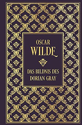 Das Bildnis des Dorian Gray: mit Illustrationen von Aubrey Beardsley: Leinen mit Goldprägung
