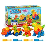 Creative Kids Build & Learn Dinosaur Take Apart Toy Set with Tools Interlocking STEM Educational...