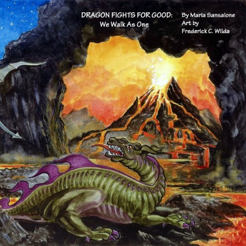 Dragon Fights for Good: We Walk as One audiobook cover art