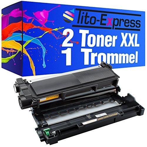 PlatinumSeries Set 1x Drum & 2x Toner Cartuccia XXL compatibile per Brother DR-2300 e TN-2320 L2340DW L2340DN L3365DW MFC-L2700DW L2700DN L2720DW L2740DW DCP-L2500D L2520DW L2540DN L2560DW L2700DW