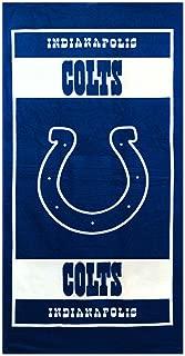 NFL Football Idianapolis Colts Licensed Fiber Reactive Bath/Beach Towel 100% Cotton
