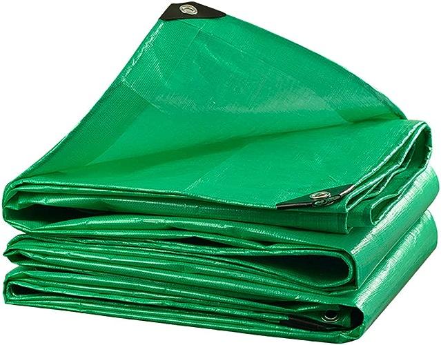 Yunyisujiao Bache PE épaissir imperméable Tissu d'ombrage extérieur Poncho de Balcon Couverture de Culture Abri Voiture 210 g mètre voitureré (Couleur   3M6M)