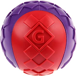 GiGwi Ball Squeaker 1pc Small 6193, red/violet