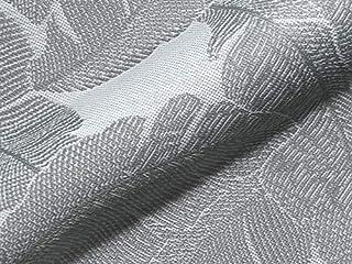 Raumausstatter.de - Tela para Muebles para Exterior Korsika 751 Hojas Gris como Tela de tapicería Resistente para Coser y tapizar para Interior y Exterior con protección Antimanchas