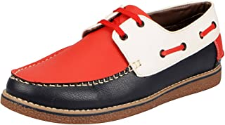FAUSTO Men's Boat Shoes