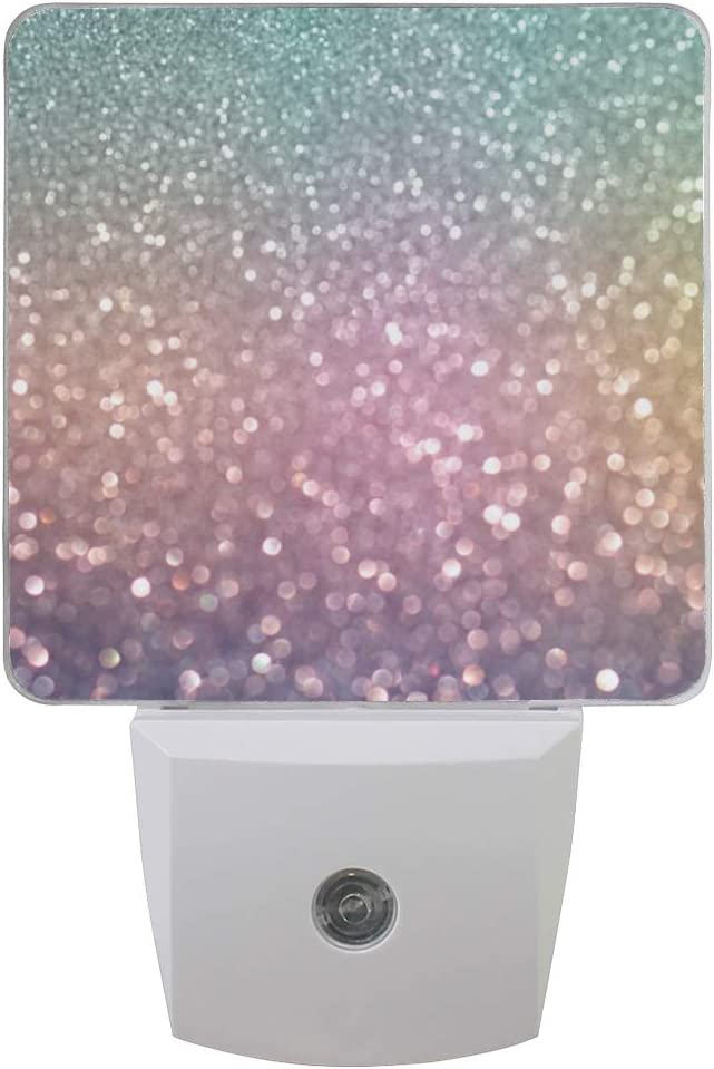 Light Colorful Glitter Night Set Our shop OFFers the best service All items free shipping LED of Plug-in Sensor 2