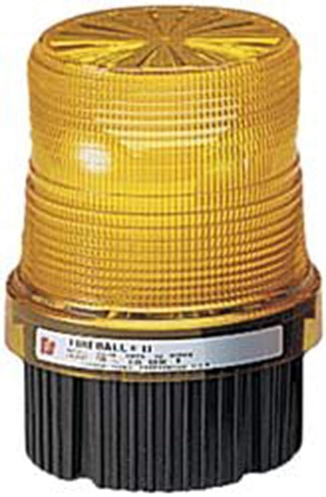関連付けるアイドル買うFederal Signal FB2PST-120G Fireball Strobe Warning Light, Single Flash, 1/2 NPT Pipe/Surface Mount, 120 VAC, Green by Federal Signal