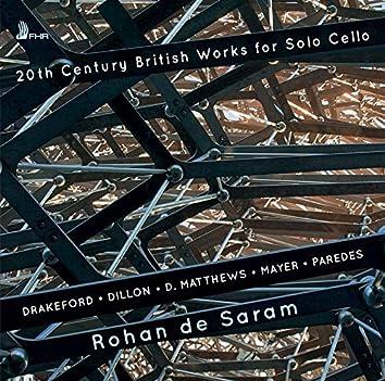 20th Century British Works for Solo Cello