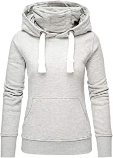 Black Sizes 8-22. Ladies Famous Make Lightweight Hooded Thermal Sweatshirt