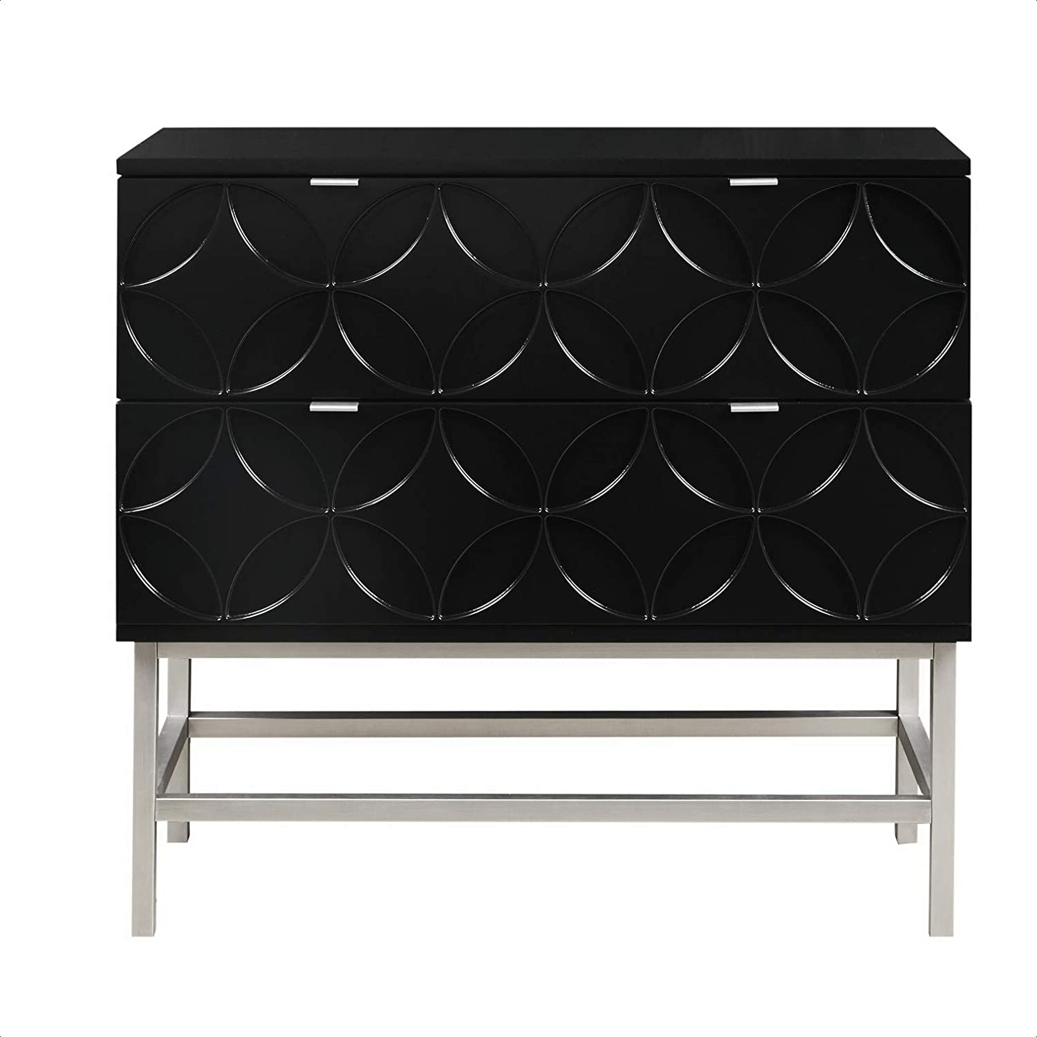 Walthall Fixed price for sale 2 Drawer Accent Chest New York Mall Overa Required Partial Assembly