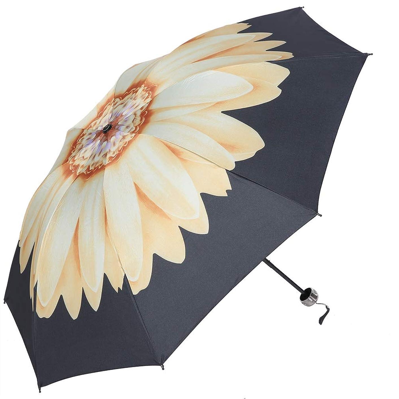 水を飲む宴会試みるTenweet 折りたたみ傘 傘 UVカット UPF50 + 紫外線対策 超軽量 携帯しやすい 3色(イエロー)