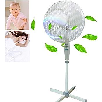 Zeerkeer - Ventilador oscilante de 50 W, máquina de viento, aire ...