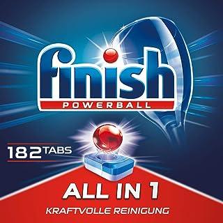 Finish 亮碟 All in 1 多效合一 洗碗機洗滌塊 3個月用量 超值裝 1包 (1 x 182塊)