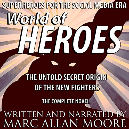World of Heroes audiobook cover art