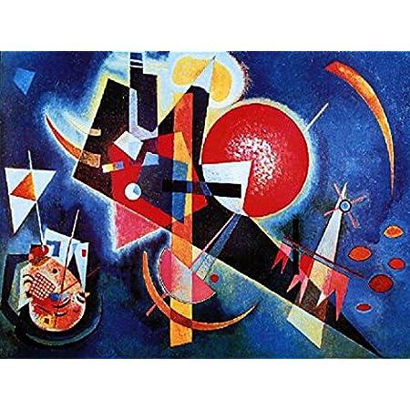 120 x 90cm 1art1 Wassily Kandinsky mit und Gegen Stampa dArte
