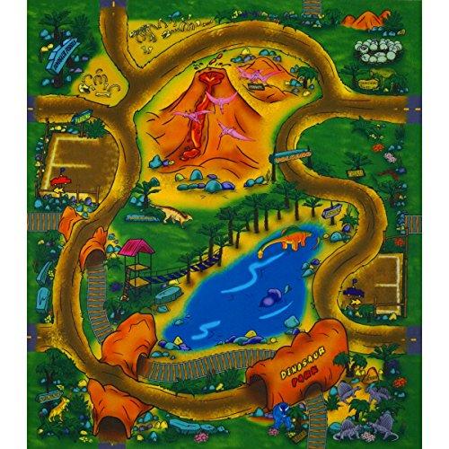 Unbekannt Tapis de Jeu Motif Dinosaure 70 x 80 cm