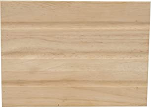 Craftmade CH2401-UO Designer Hand-Hewn Door Chime, Unfinished Oak (8.5