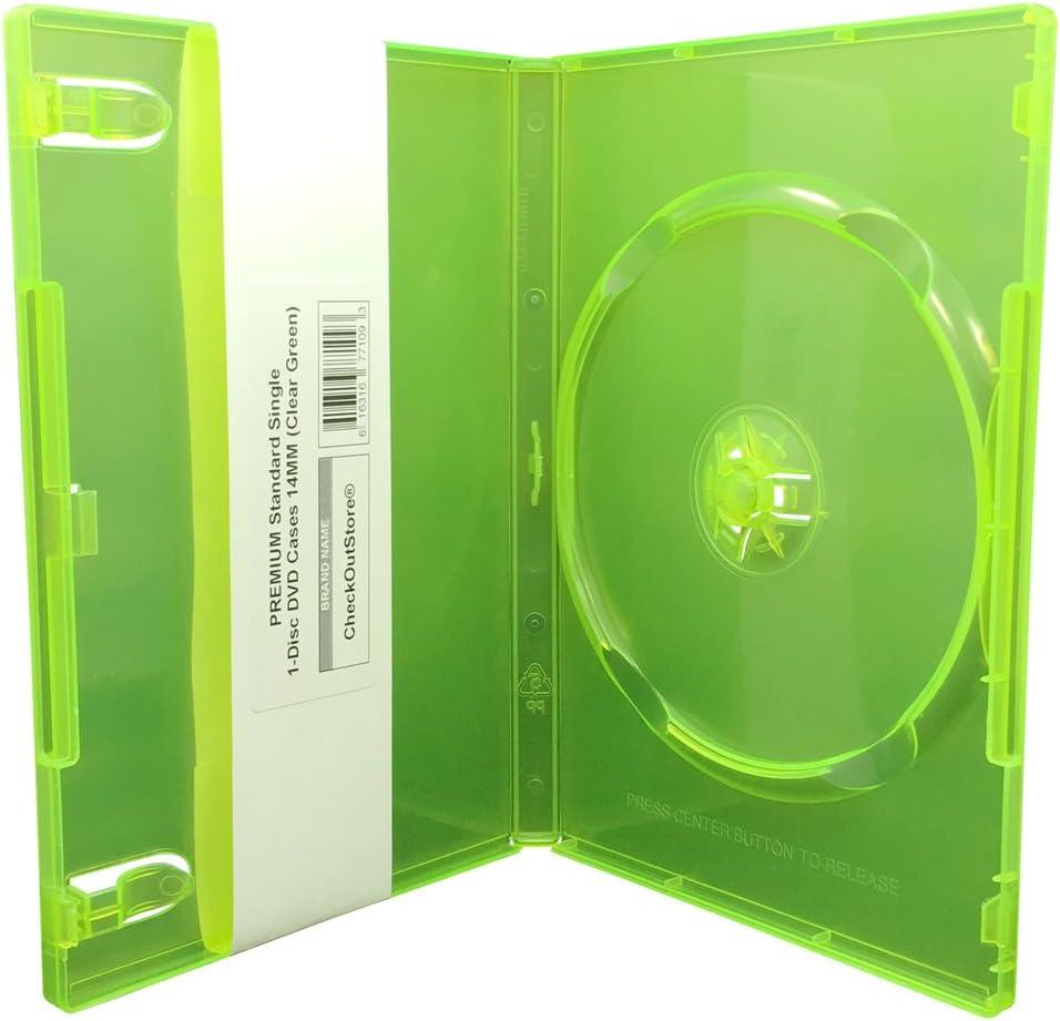 CheckOutStore Sales for sale 100 Premium Standard Single Max 66% OFF DVD Cases 1-Disc 14m