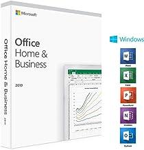 Microsoft Office Home & Business 2019 - Arabic - DVD