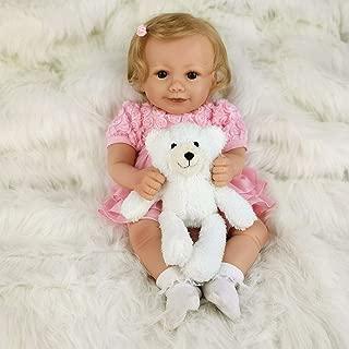 AVANI DOLL ''Melinda'',Soft Vinyl Reborn Baby Doll,Lifelike Newborn Baby Doll,Handmade Baby Doll That Looks Real