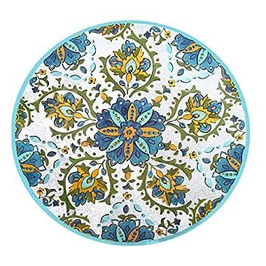 Le Cadeaux Allegra Family Style Platter, 16 , Turquoise