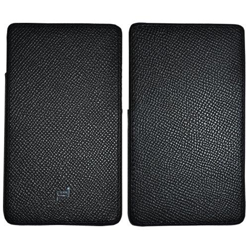 PORSCHE DESIGN P'3300 French Classic 3.0 Leather Black CASE for PORSCHE DESIGN BlackBerry P'9983