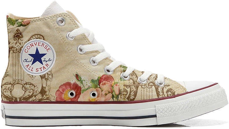 Converse All Star personalisierte Schuhe - Handmade schuhe - Floral Vintage