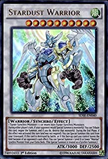 Yu-Gi-Oh! - Stardust Warrior (SDSE-EN040) - Structure Deck: Synchron Extreme - 1st Edition - Ultra Rare