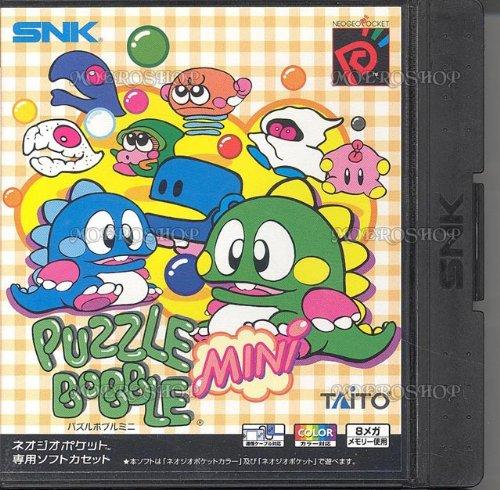 Puzzle Bobble mini - NeoGeo Pocket Color - JAP