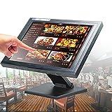 OBLLER Caisse de caisse tactile LCD 15' avec logiciel POS moniteur de caisse
