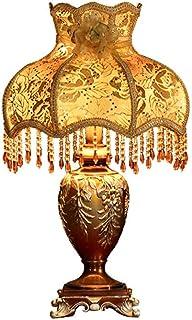 Baibao Lámpara Europea Tabla Retro Dormitorio de Noche Resina Sala de Estar E27 iluminación decoración de la Boda de la antigüedad Luz