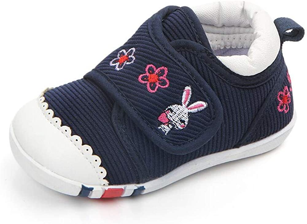 Demonda Fort Worth Mall Baby Canvas Anti-Slip Rubber Cheap super special price Sole Sneakers Toddler First