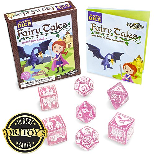 Imagination Generation Story Time Dice: Fairy Tales  Magically Shimmers