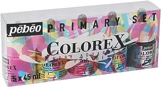 Pébéo Watercolour Ink Box of 5 x 45 ml Bottles Assorted Colours
