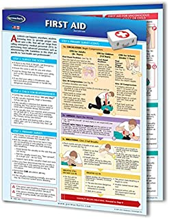 First Aid Guide - Medical Quick Reference Guide by Permacharts