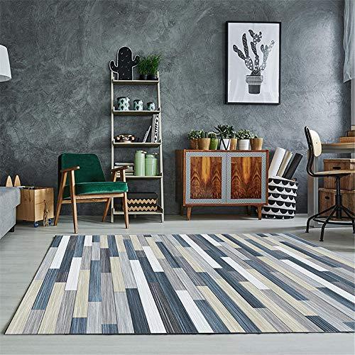 Gemakkelijk schoon Salon tapijten Antislipdekens Slaapkamer Studie tapijt kruipen mat antistatisch wasbaar in de Machine 80 * 120CM