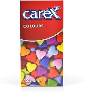 Carex Colours Condoms, Natural - 12 Pieces