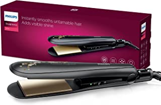 Philips BHS736/00 Kerashine Titanium Wide plate Straightener with SilkProtect Technology. Straighten, curl, with instant s...