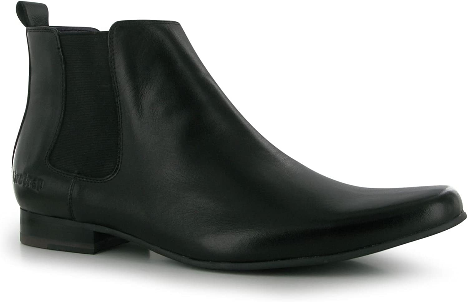 Firetrap Mens Chelsea Boots shoes Footwear Slip On Elasticated Sides