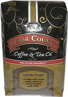 Door County Coffee, Sunrise Roast, Ground, 5lb Bag