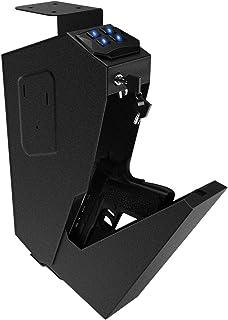RPNB Mounted Firearm Safety Device with Biometric Fingerprint or Key Lock
