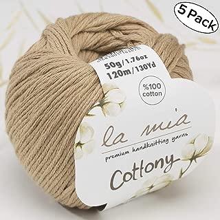 la mia cottony yarn