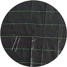 350 m/² le erbacce in tessuto non tessuto telo per pacciamatura in Tessuto non Tessuto giardino 80 G 1,4 m largo Marrone