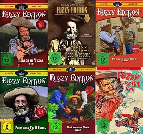 Best of FUZZY KULT-WESTERN Collection - Der Held des Westens 6 DVD Limited Edition