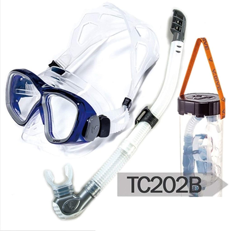 RKY Schwimmbrillen - Erwachsene Schnorcheln Sambo Ausrüstungsspiegel Schnorchel Set tief tauchen Tauchmaskenbrille