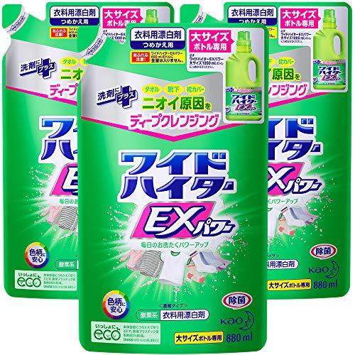 [Bulk Purchase] Wide Haiter EX Power Large Refill, 32.8 fl oz (880 ml) x 3