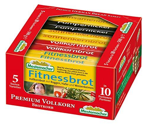 Mestemacher Vollkorn- Brotkörbchen, ( 1 x 500 g)