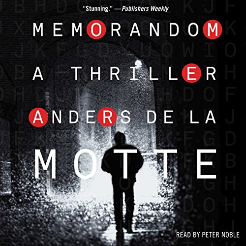 MemoRandom audiobook cover art